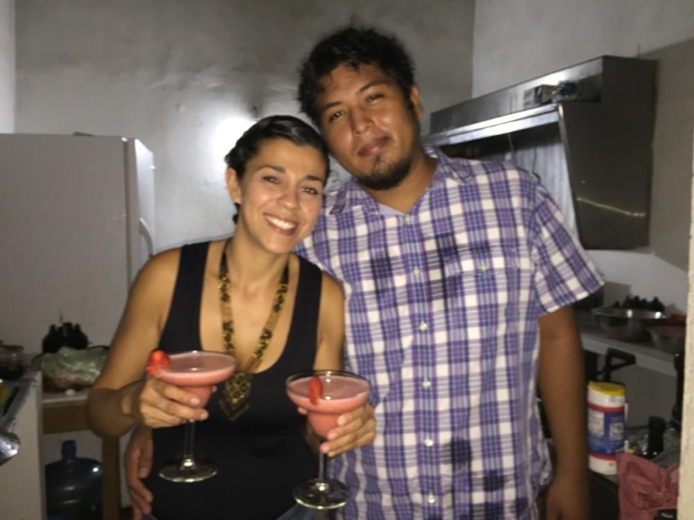 Chef Edwin creates, La Ballena Blanca, La Cruz de Huanacaxtle
